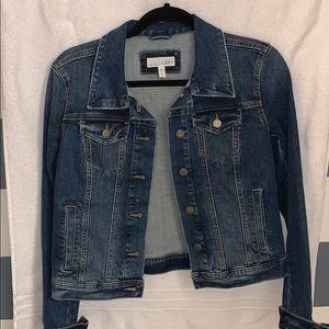 LOFT jean jacket size small